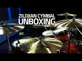 NEW ZILDJIAN CYMBAL UNBOXING!!! K's - A Customs - EFX!