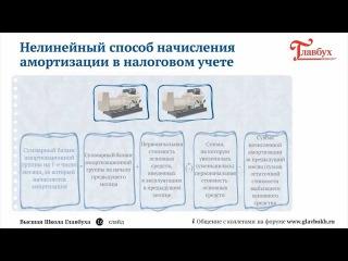Амортизация основных средств. Ч-3