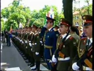 Wunsdorf-Вюнсдорф: военный парад в честь вывода войск. 1994.