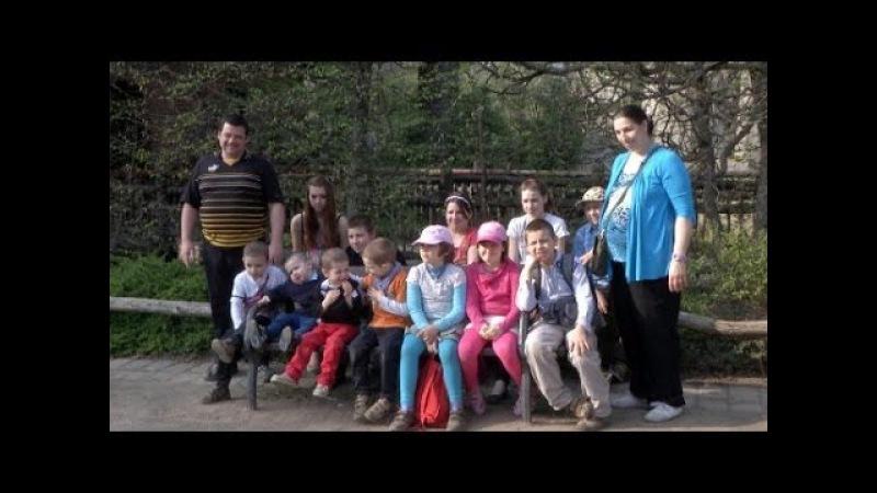 13 Kinder in 8 Zimmern Alltag in der Großfamilie Rübenack
