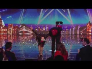 Spectacular Salsa - Paddy  Nico - Electric Ballroom _ Britains Got Talent 2014