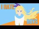 аниме клип - I Hate Boys AMV Mix/2015