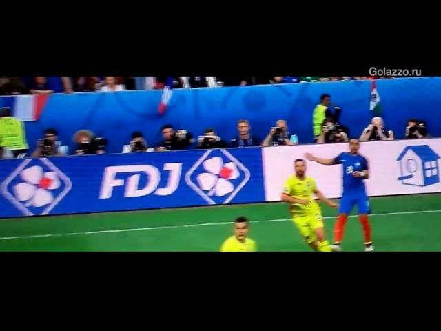 Політика на Євро-2016: угорський арбітр зарахував спірний гол у ворота румунів