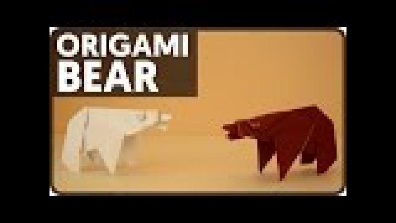 Origami Bear Fumiaki Kawahata