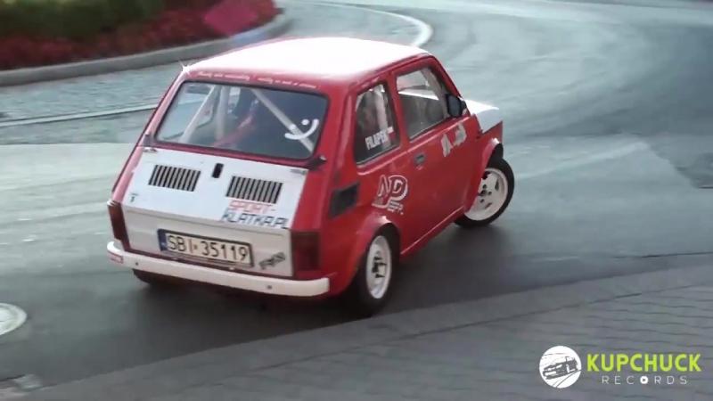 Szalony kierowca malucha. Piotr Filapek - Flat out