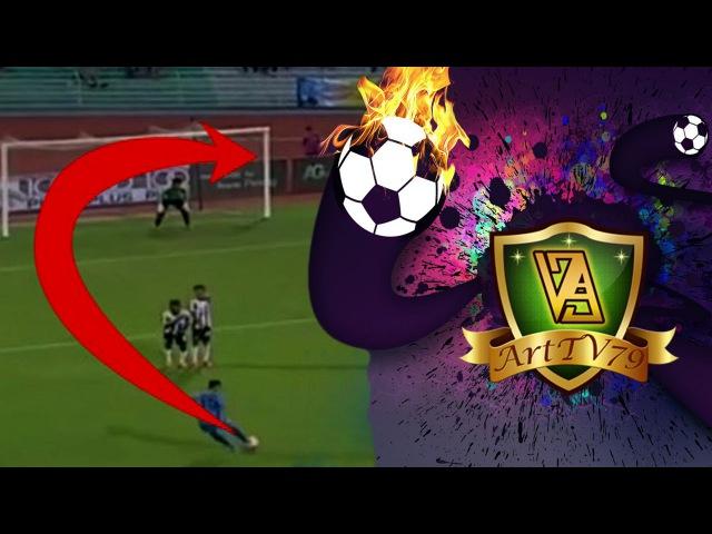 Faiz Subri Amazing Free Kick Goal Penang 4:1 Pahang FC