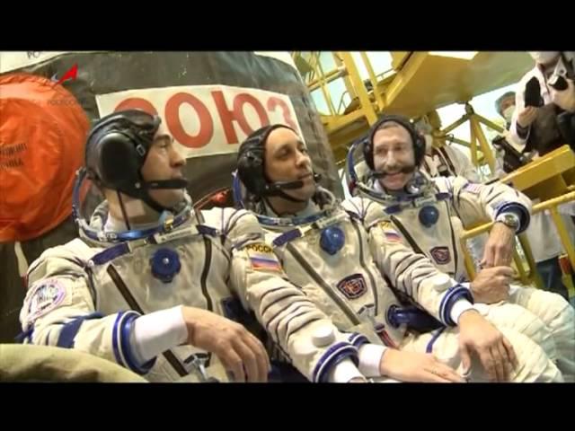 Трансляция старта РКН Союз-ФГ с ТПК Союз ТМА-22. Часть 2
