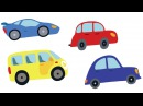 МАШИНЫ - Я ВИЖУ - развивающая песенка мультик про автомобили и тракторы для детей малышей