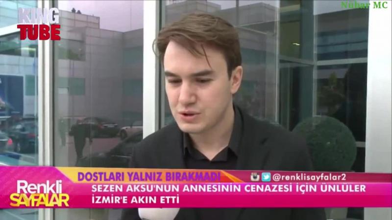 Mustafa Ceceli Şehriban Yıldırımın Cenaze Töreninde (Renkli Sayfalar)