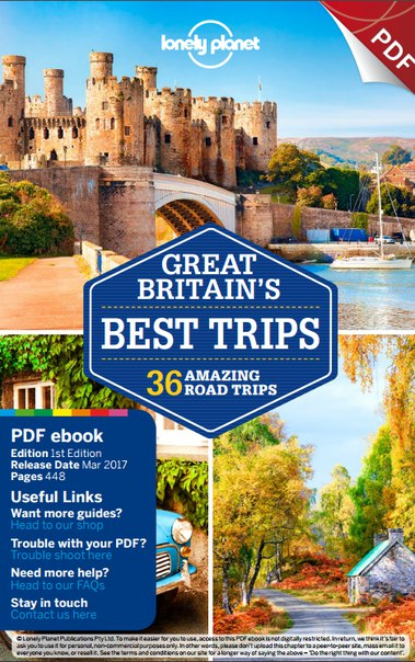 1lonely planet great britain s best trips