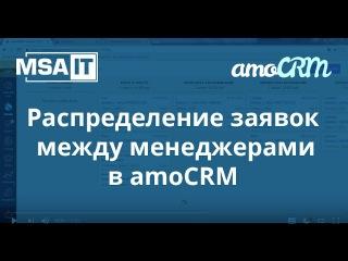 Распределение заявок в amoCRM по весам