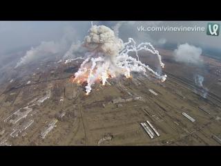 Балаклея - взрывы на военных складах