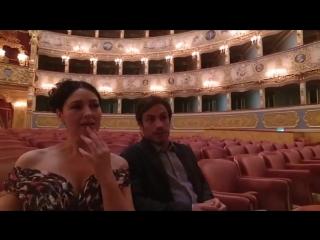 Monica Bellucci  Gael Garcia Bernal Teatro La Fenice Mozart in the Jungles