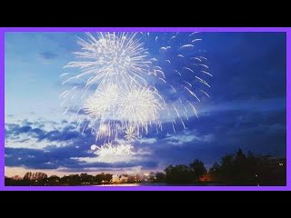 ☄VLOG: Салют на 9 мая Фейерверк Сестрорецк День Победы | Златуня