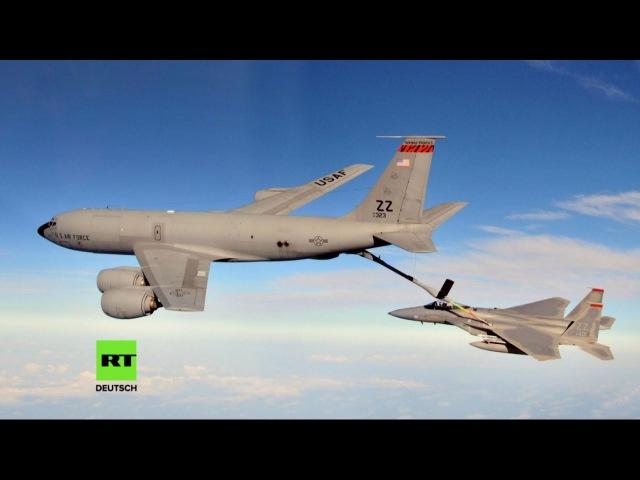 Krieg aus der Pfalz US Luftwaffenstützpunkt Ramstein wird für 85 Millionen Euro ausgebaut