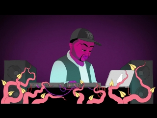 Dj mustard, nicki minaj, jeremih dont hurt me (animated video by felix colgrave)
