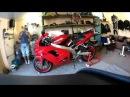 Ninja ZX9R TimeLapse motorcycle assembly Сборка мотоцикла