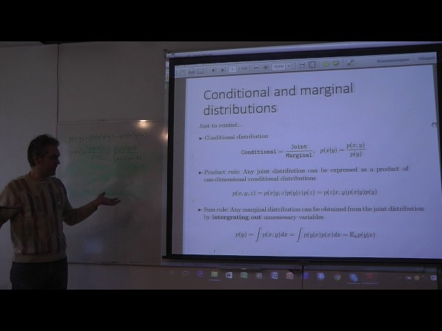 Ветров Д П Оптимизационная постановка задачи нейро байесовского вывода 15 10 16