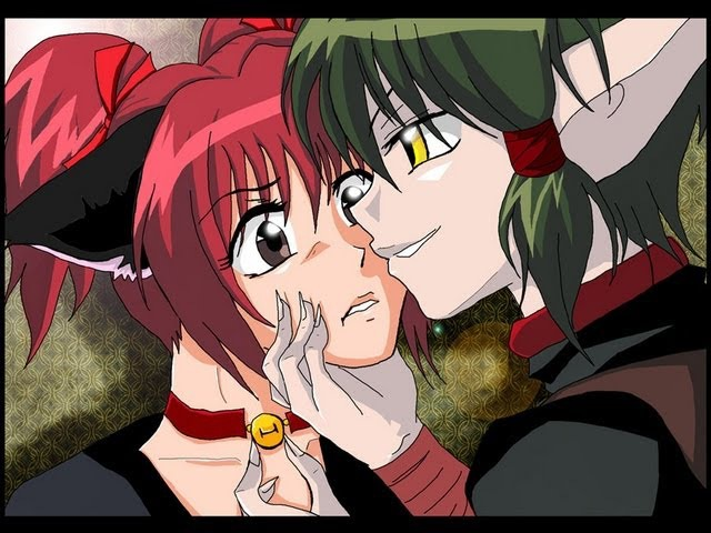 Kisshu x Ichigo and Taruto x Pudding Good Girls Bad Guys Tokyo Mew Mew Aliens