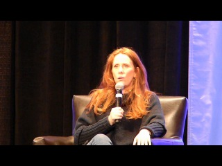 "Catherine Tate's panel at ""Planet Comicon"" (Part 1)"