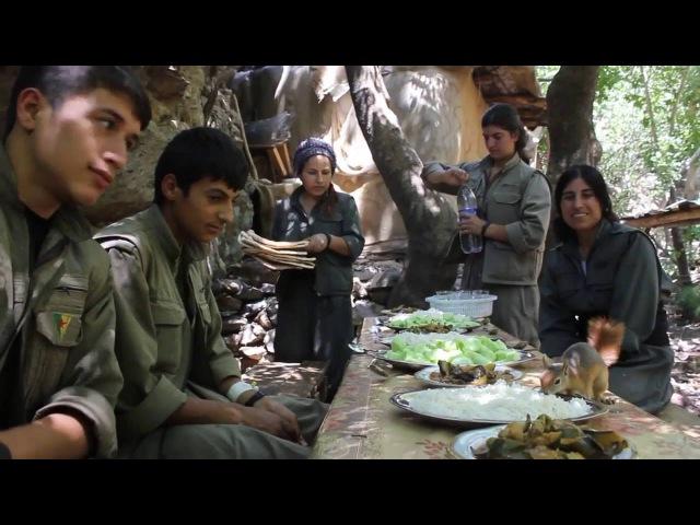 PKK GeriLasi.Pezkuvîden sonra Gerillanın en çok sevdiği hayvanlardan olan Sîvorî,