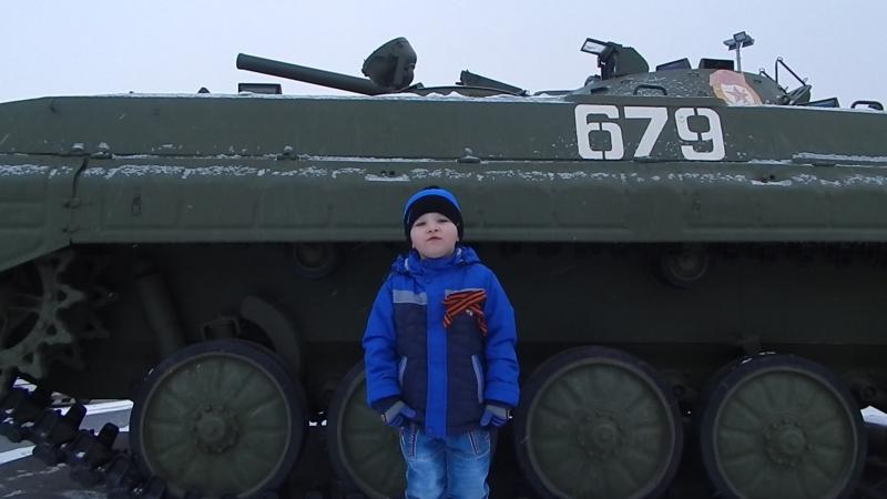Луканов Георгий читает стихотворение Андрея Усачева День Победы