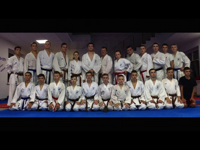 Musical VLOG: Karate Club TAY-SEN Training - I am AM ( anamorphic sense Iphone6S )
