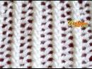 Cómo Tejer Encaje Lace Stitch en 2 agujas o palitos 18