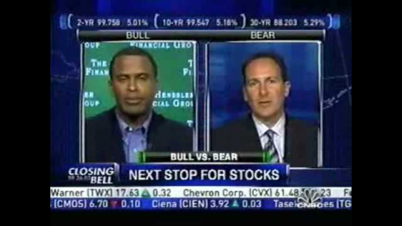 Peter Schiff was right 2006 2007 CNBC edition