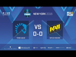 ESL One New York - Team Liquid vs. Natus Vincere - map1 - de_cobblestone
