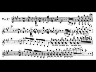 Niccolò Paganini - El Carnaval de Venecia - Salvatore Accardo