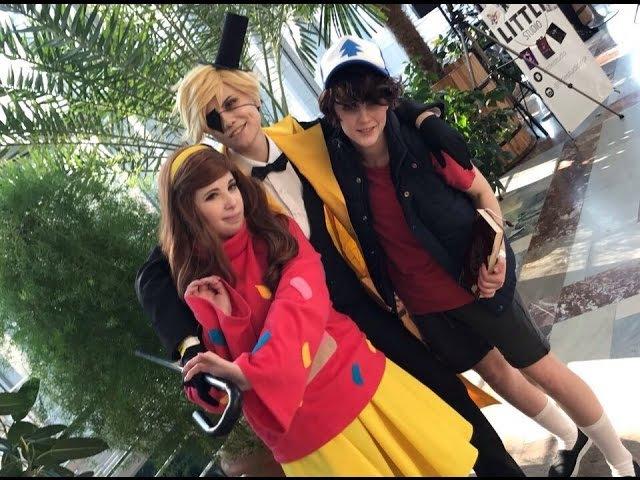 Taiyou no Matsuri 2017. Dipper and Mabel Pines Bill Cipher Gravity Falls