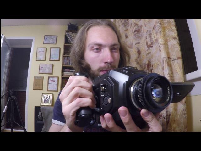 Камера Blackmagic URSA Mini PRO 4 6K EF РУССКИЙ ОБЗОР тестовые съемки Test
