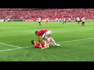 Torcida Colorada comemorando o segundo gol na vitria contra o Flamengo