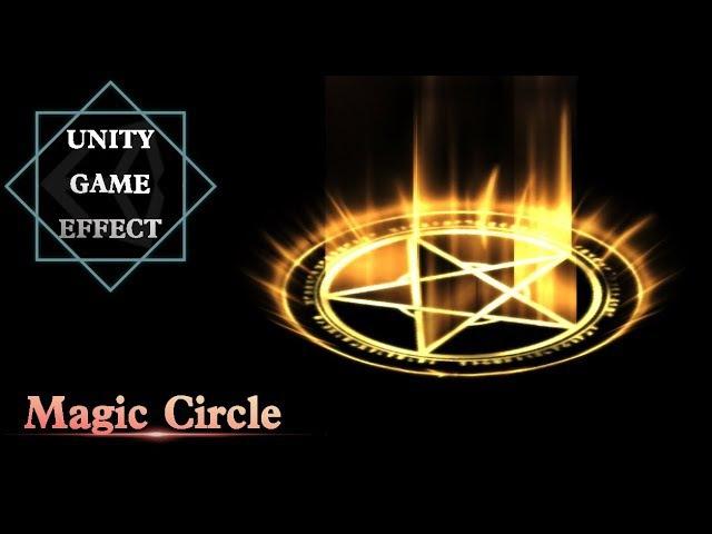Unity Game Effect(VFX) - Magic Circle