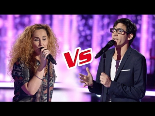 The Voice 6 : ep.8 Vincent_Vinel_VS_Guylaine