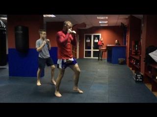 персональная тренировка по тайскому боксу