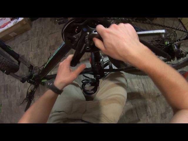 Педали шатуны каретка скрип и щелчки