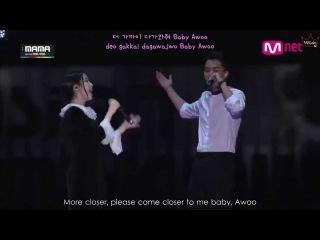 MAMA 2014 IU - Friday ft. Song Mino of WINNER (ENG/ROM/HAN)