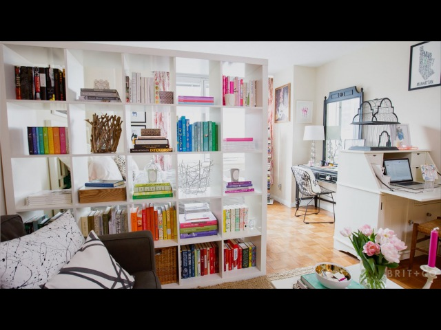 Tiny Spaces A Book Lover's Chic Manhattan Studio