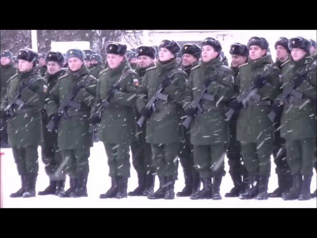 ПРИСЯГА РОДИНЕ 27 я Севастопольская ОМСБр 11 12 2016 г Видео Николай Черногорец