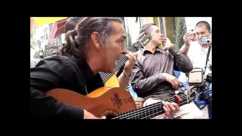Gypsy François Reyes Singing for his just baptised grand daughter