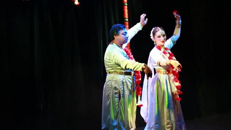 KATHAK Niratat Dhang by Ashwani Nigam Tarang Moscow
