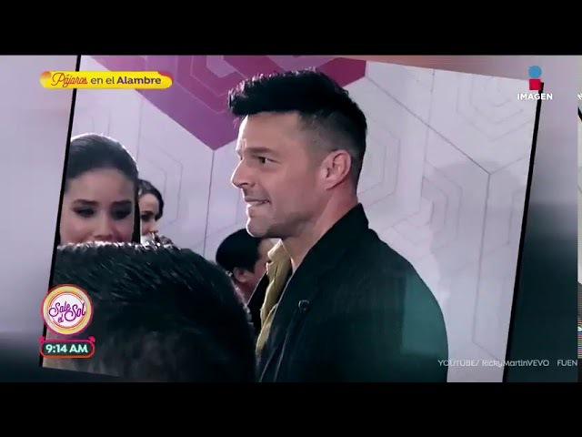 ¡Ricky Martin sorprendido por el temblor en México Sale el Sol