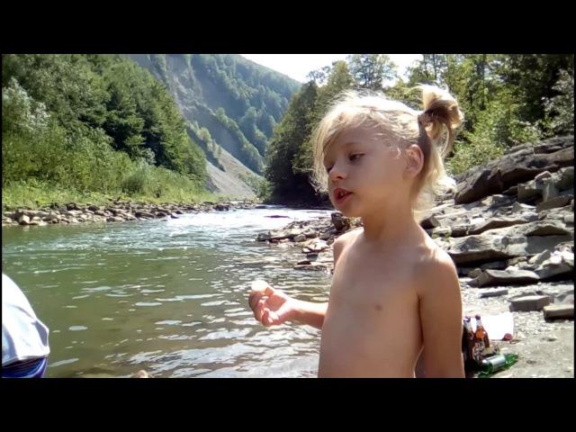 Яремче р Прут Yaremche Prut River