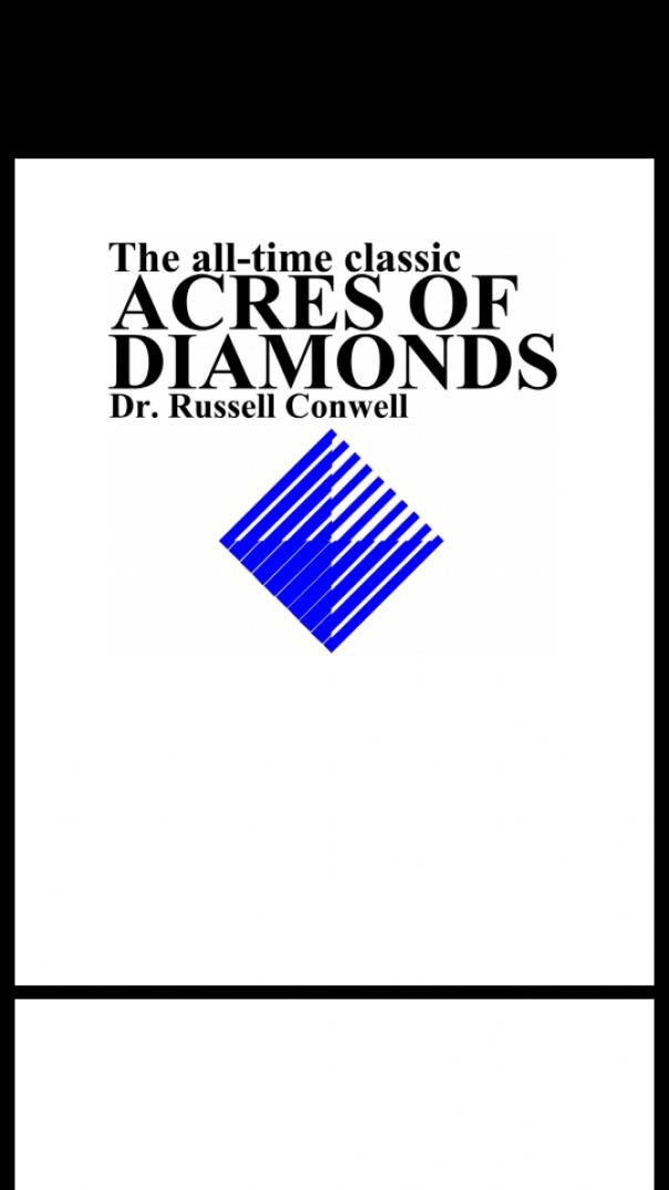 acreofdiamonds
