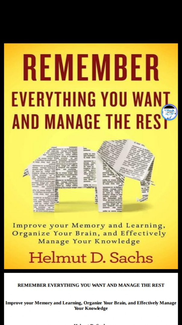 remember everything you want and manage
