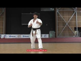 Kata kyokushin-kan kanku (kotaro yamashita) (1)