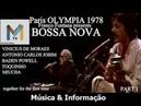 Tom Jobim Vinicius de Moraes Toquinho e Miucha RTSI Televisione Svizzera DVD Full BEST BOSSA NOVA