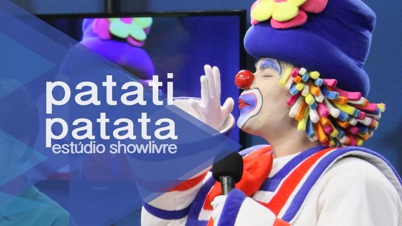 Patati Patatá em Se você quer sorrir no Estúdio Showlivre 2013